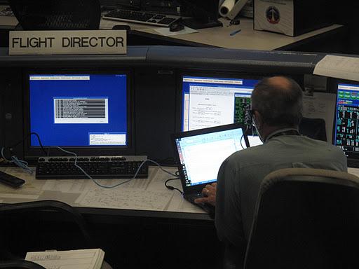 Centrum Kontroli Lotów Kosmicznych w Houston