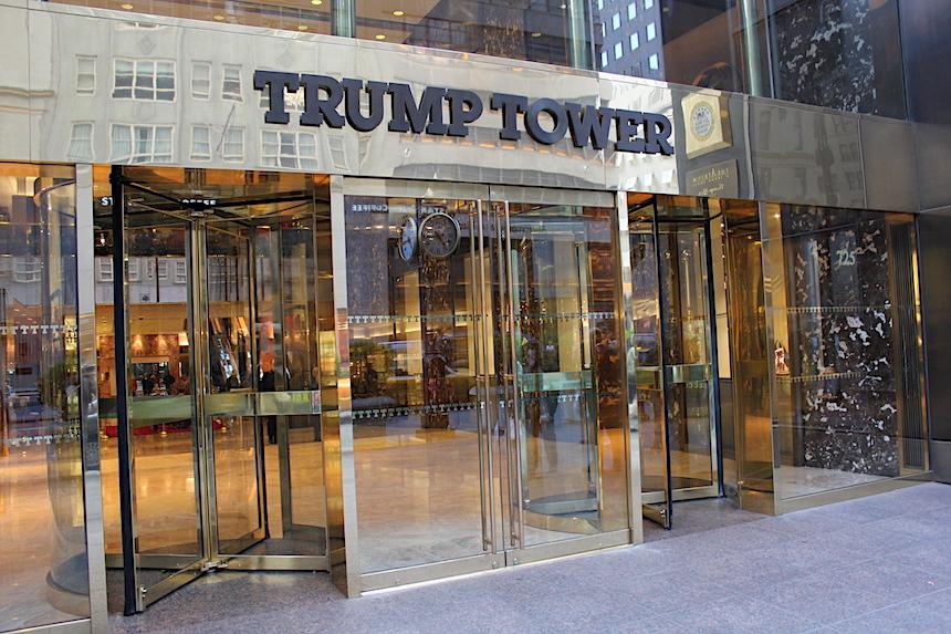 Apartament Donalda Trumpa w Nowym Jorku