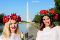 Festiwal wianków w Waszyngtonie