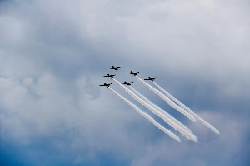 pokazy lotnicze w USA