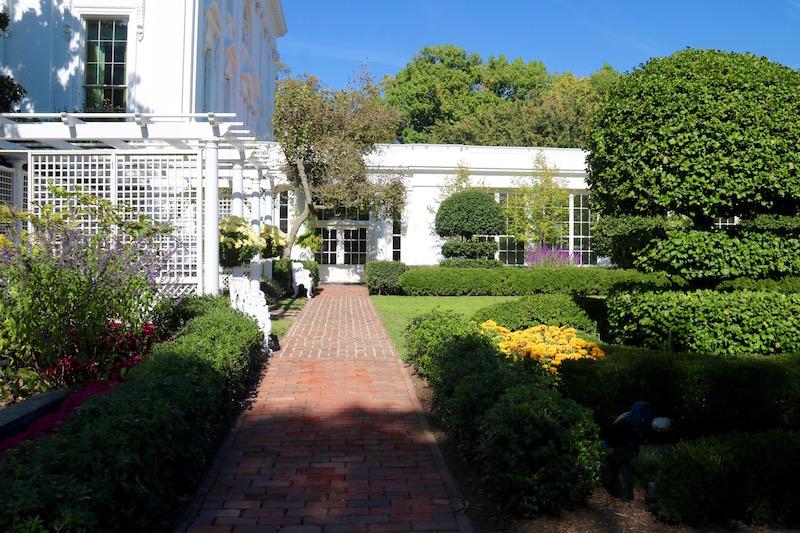 Wycieczka po ogrodach Białego Domu