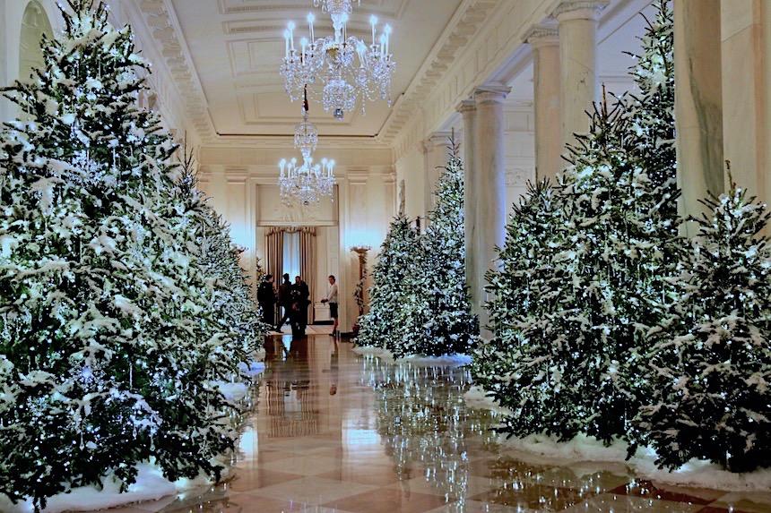 dekoracje świąteczne w Białym Domu