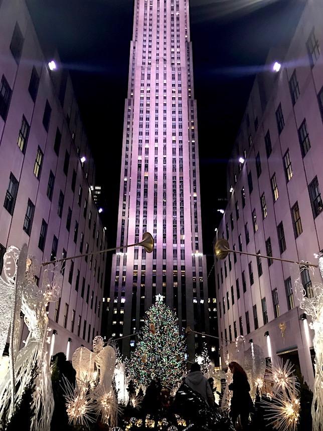 choinka w Nowym Jorku