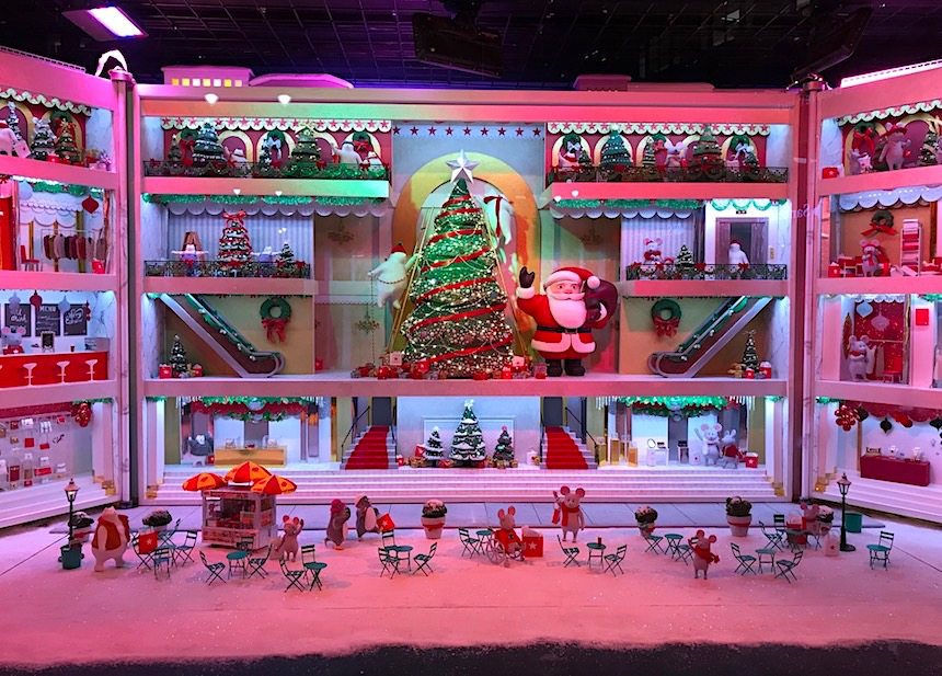 sezon świąteczny w nowym jorku