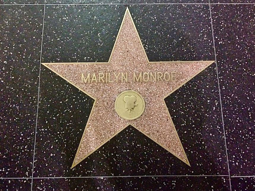 jak naprawdę wygląda Hollywood, gwiazda Marilyn Monroe w alei gwiazd