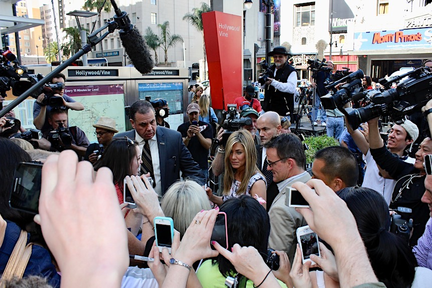 Jennifer Aniston w Walk of Fame