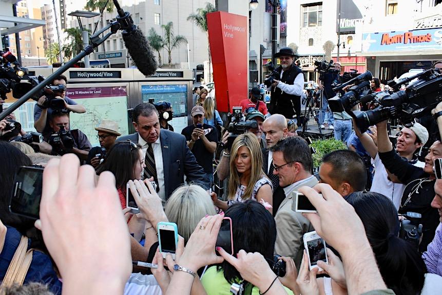 Jennifer Aniston w Walk of Fame