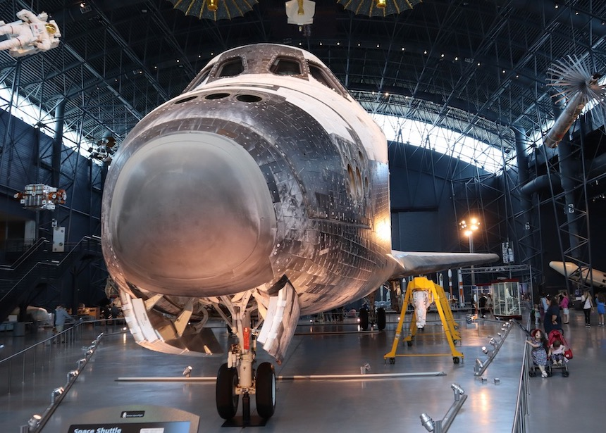 Discovery w Air and Space Museum w Waszyngtonie