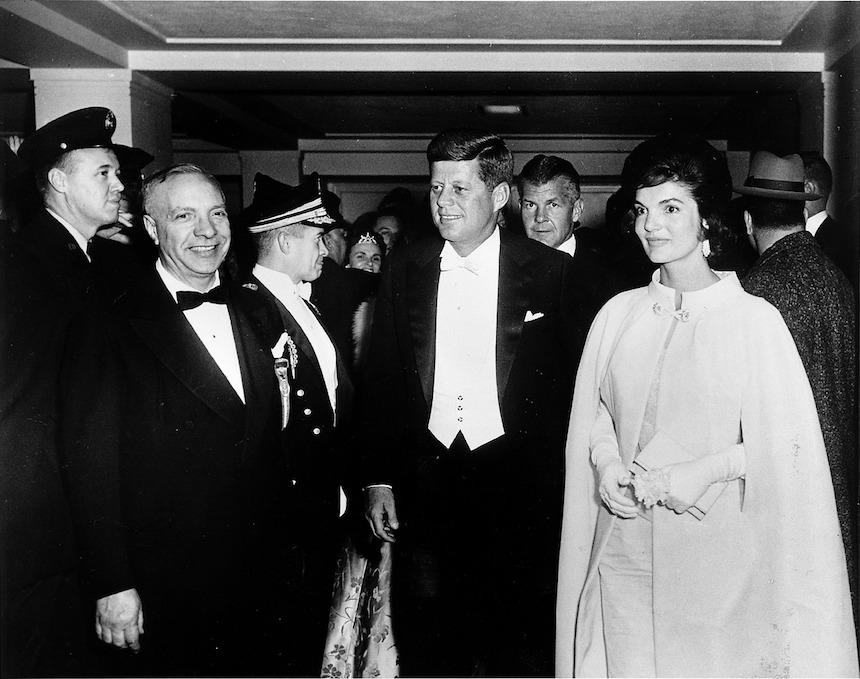 prezydent John Kennedy