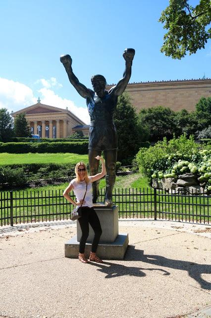 Rocky Steps czyli schody Rocky'go