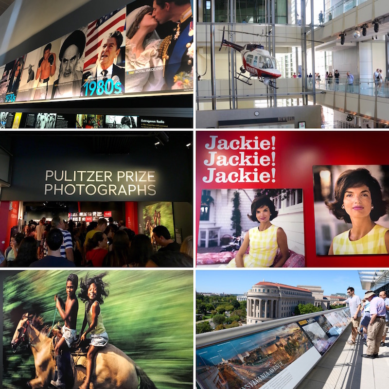 Newseum w Waszyngtonie zwiedzanie