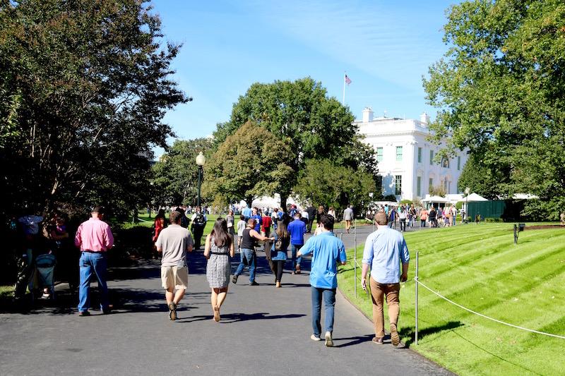 ogrody Białego Domu