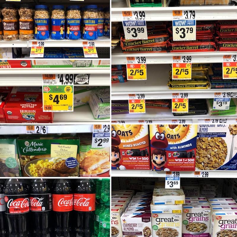 ile kosztuje żywność w USA