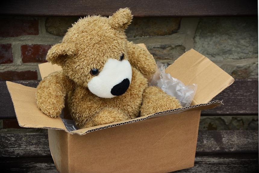 W USA paczki zostawia się na wycieraczce