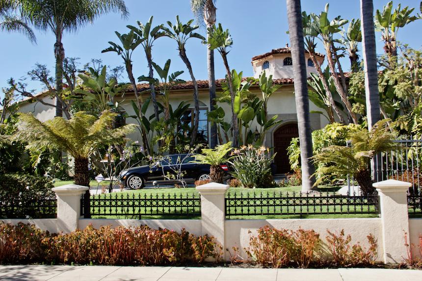 Hollywoodzkie rezydencje, czyli amerykańskie domy dla bogatych