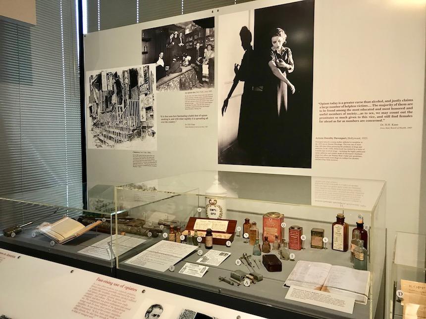 serial Narcos i muzeum DEA