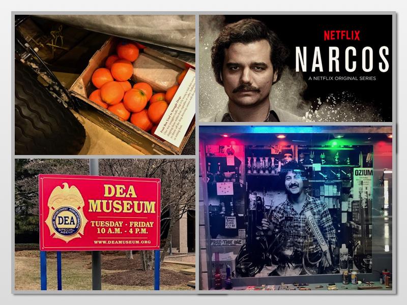 Serial Narcos i muzeum DEA w Waszyngtonie