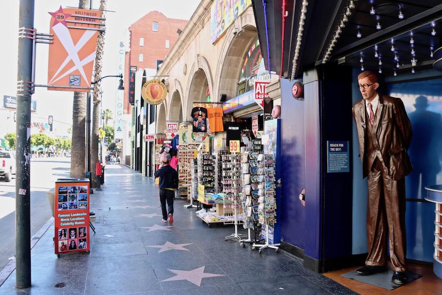 Chodź, odrę Cię z wyobrażeń, czyli Walk of Fame w Hollywood