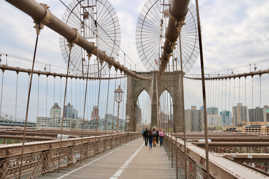 Brooklyn Bridge czyli Most Brookliński w Nowym Jorku