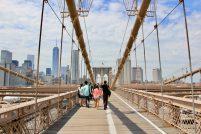 Brooklyn Bridge czyli Most Brookliński, jeden z najpiękniejszych na świecie