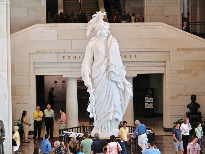 Statue of Freedom (Statua Wolności)