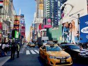 Jazda taksówką po Nowym Jorku