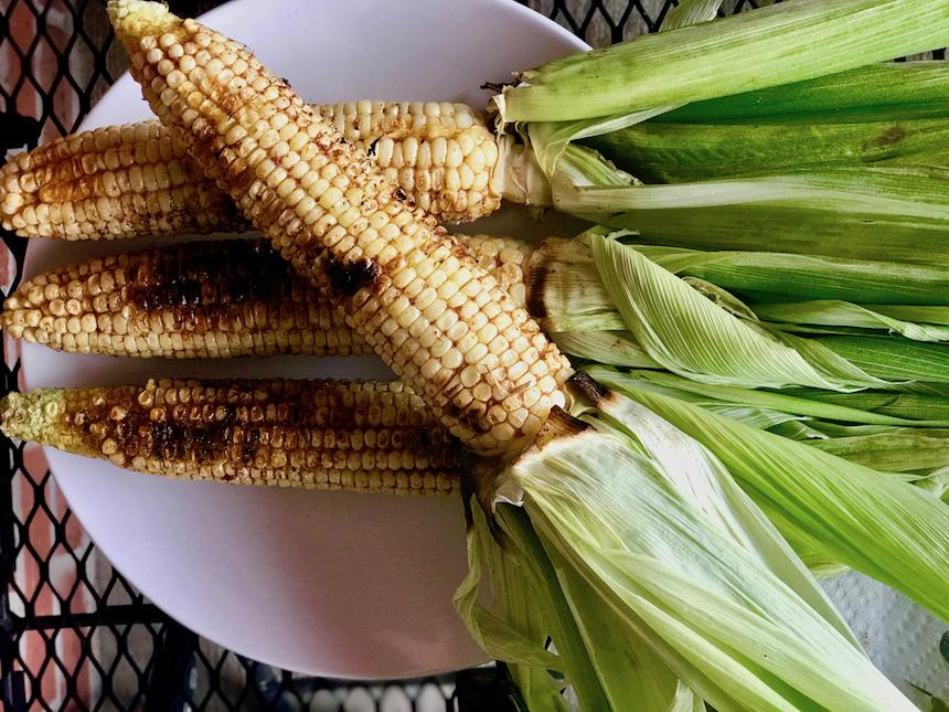 Grillowana kukurydza po amerykańsku
