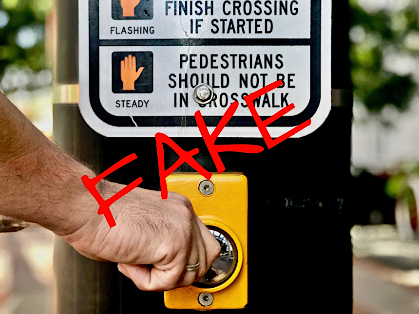 Uwaga! Ten przycisk nie działa