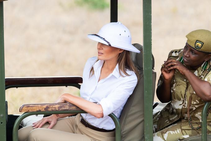 Melania Trump w Afryce