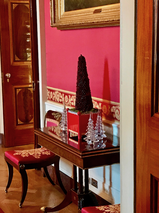 Święta w Białym Domu, czyli dekoracje świąteczne w siedzibie prezydenta USA.