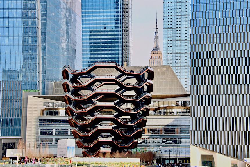 The Vessel, nowa, darmowa atrakcja Nowego Jorku