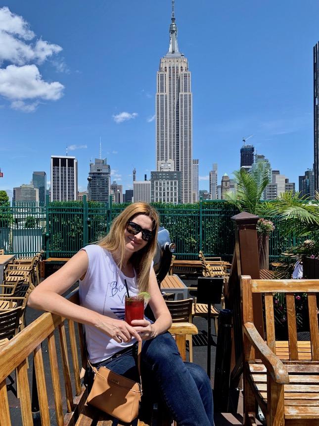 taras widokowy w Nowym Jorku