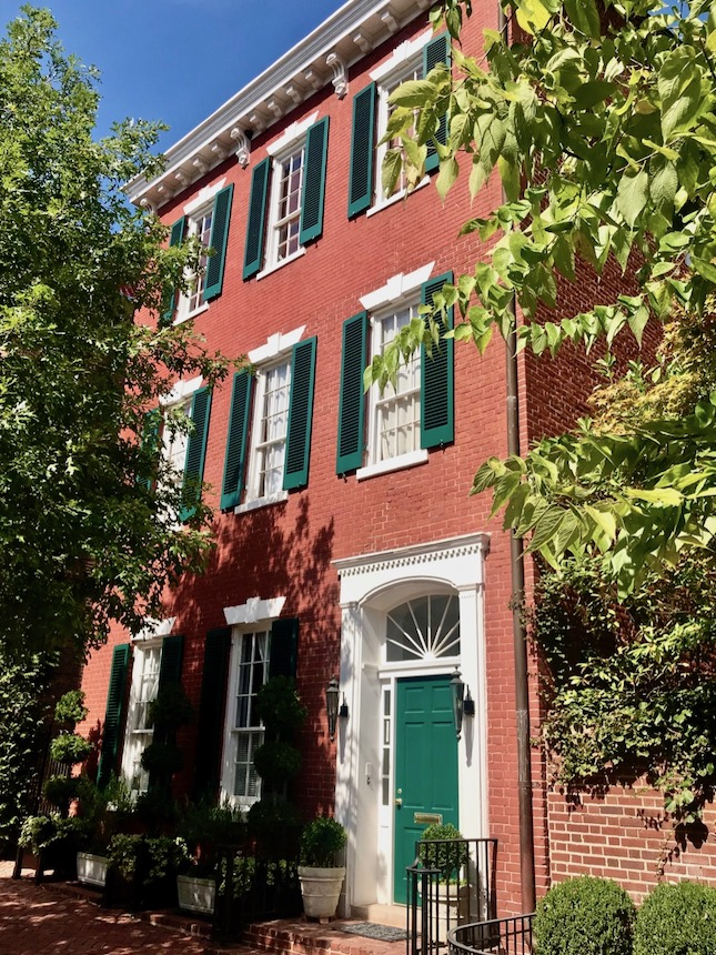 dom Kennedy'go w dzielnicy Georgetown
