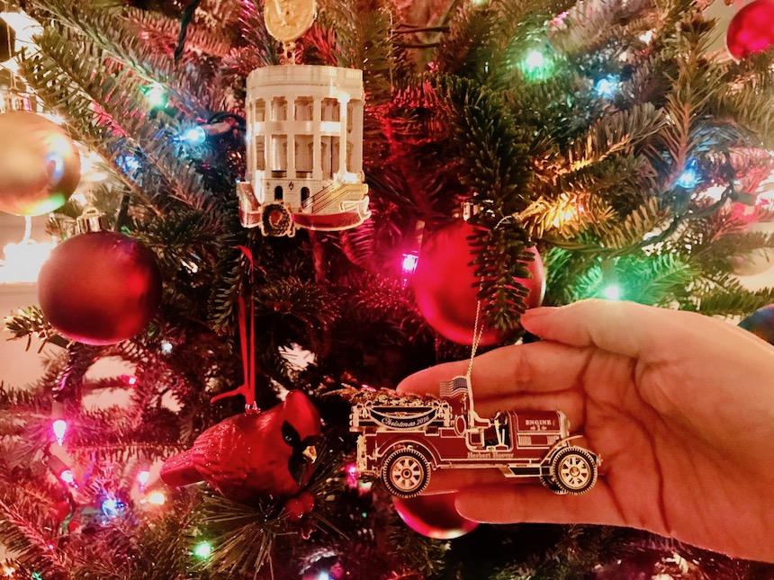 Świąteczne ornamenty Białego Domu